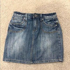 Toobydoo super cute jean skirt